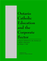 Ontario Catholic Education and the Corporate Sector (1997)