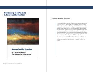 Renewing the Promise - Institute for Catholic Education