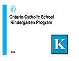 Religious Education for Kindergarten