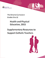 Supplementary Resources to Support Catholic Teachers