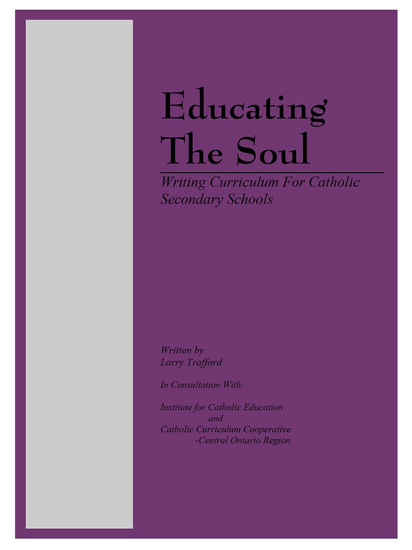 Educating the Soul